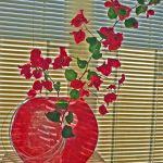 Lutradur Vase